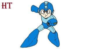 HOW TO DRAW MEGAMAN