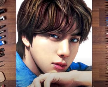 How to draw Jin BTS
