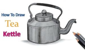 How to draw a kettle Step by Step