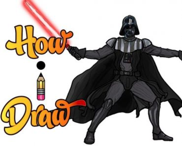 How to draw darth vader Step by Step
