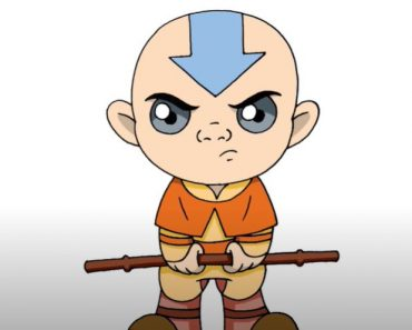 how to draw aang from avatar