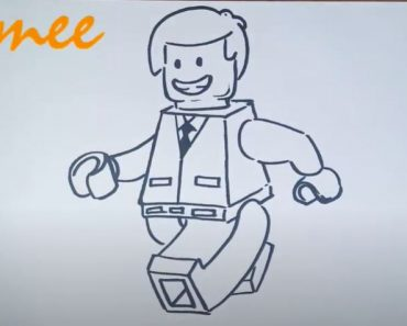 How to Draw a Lego Man
