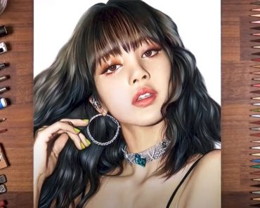 Lisa from BLACKPINK Drawing